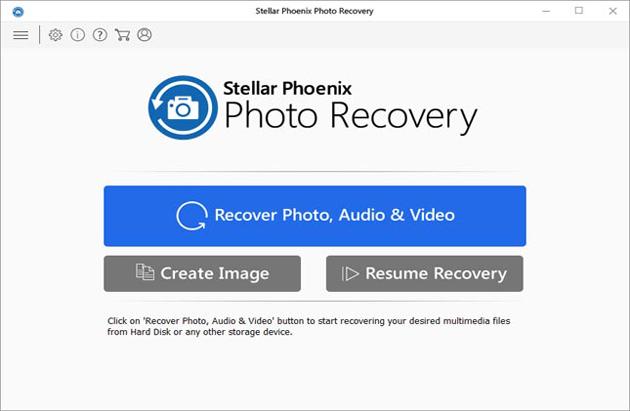 Kostenlose Stellar-Phoenix-Fotowiederherstellung