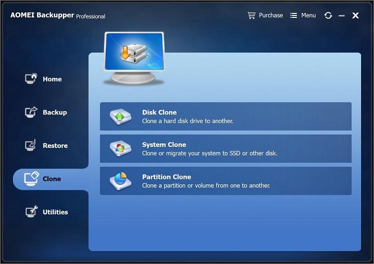 Clone laptop hard drive