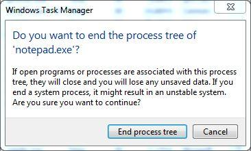 End Process to Delete a File in Use in Windows