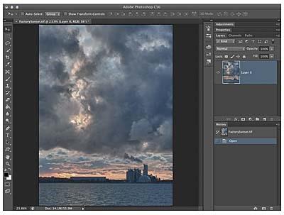 ripara file JPEG con PS
