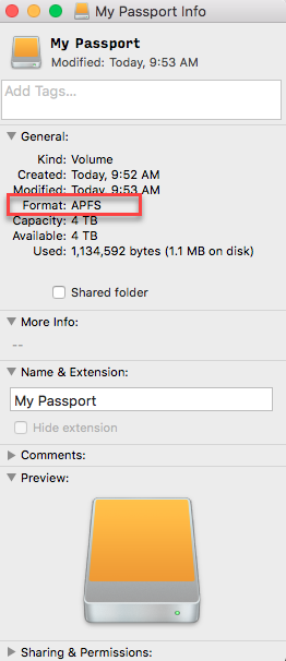 How to Convert a WD External Drive to Apple File System (APFS) Format