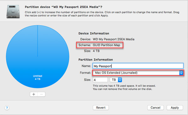 How to Convert a WD External Drive to Apple File System