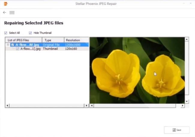 repairing Jpg files