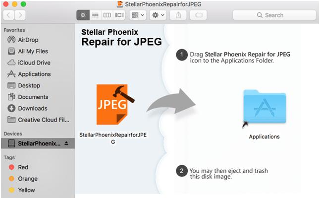 download Stellar photo repair tool