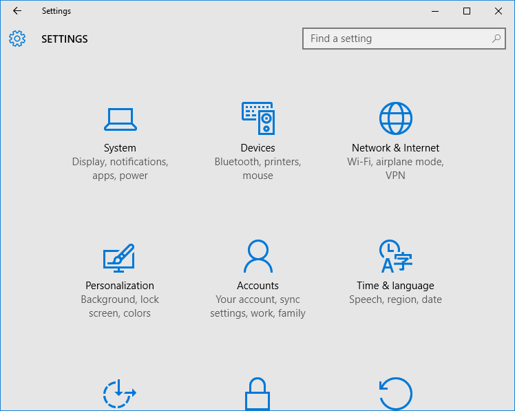 Settings-app-not-opening-in-Windows-10
