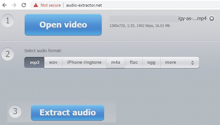 audio extractor