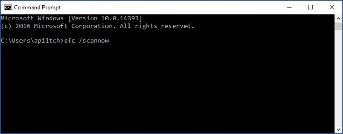 procurar erros no Windows 10