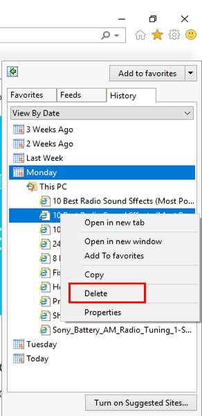 delete-specific-site