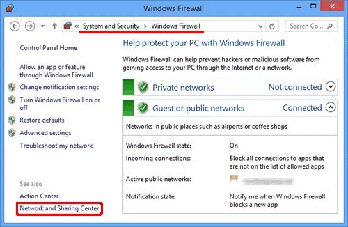 Firewall Setting