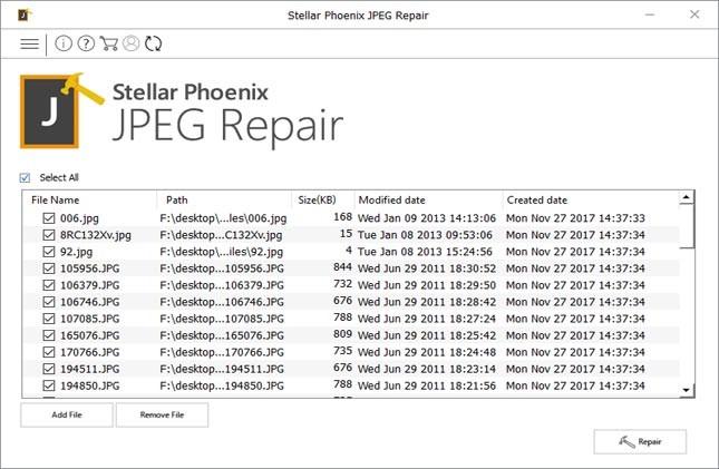 repair file