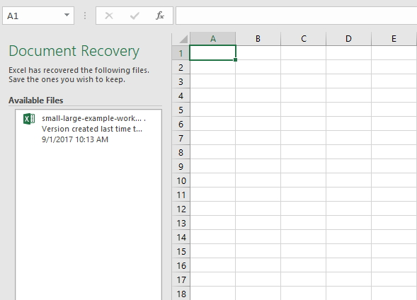 Excel File Recovery: How to Recover Deleted Excel Files