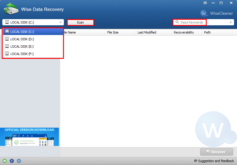 recover lost data wise data recovery