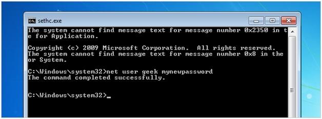 Recuperar Contraseña de Windows Perdida u Olvidada