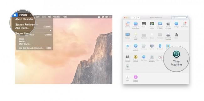 comment restaurer votre MAC avec Time Machine