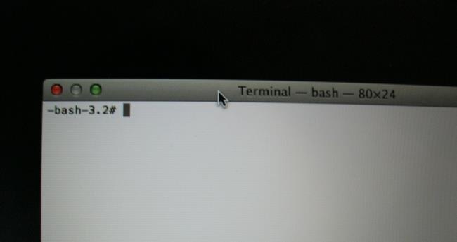 récupération de Mac Mode 08