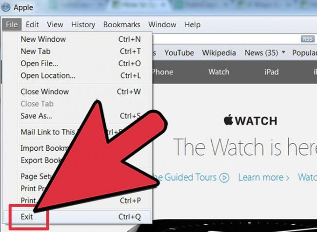 réinitialiser Safari pour débarrasser de l'Internet lent