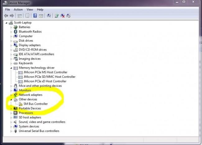 comment traiter un périphérique PCI inconnu dans le gestionnaire de périphériques Windows