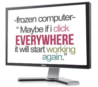 erreur de blocage de l'ordinateur