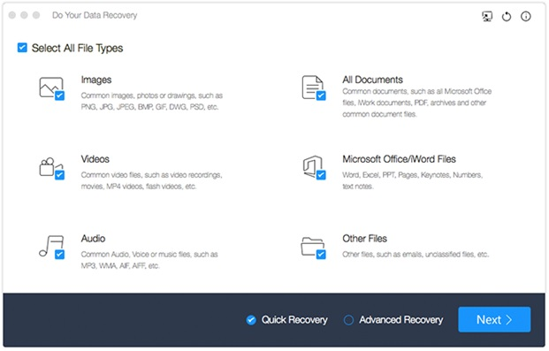 Do Your Data Recovery Professional pour Mac gratuit