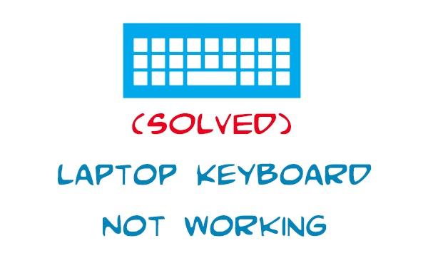 le clavier ne fonctionne pas