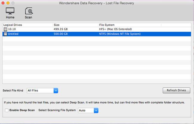 recuperare formattato jpg/png/gif file passaggio 2