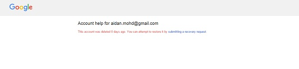 recupera cuenta de email