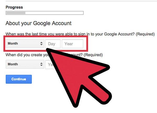 Reset Email Password