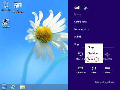 Arriver à entrer en mode sans échec dans Windows 10 étape 1