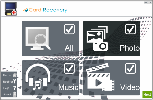 4 card data recovery
