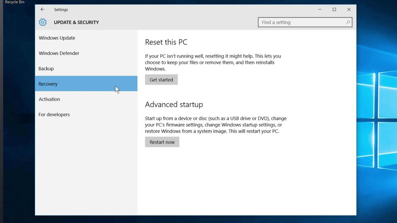 comment accéder au BIOS étape 3