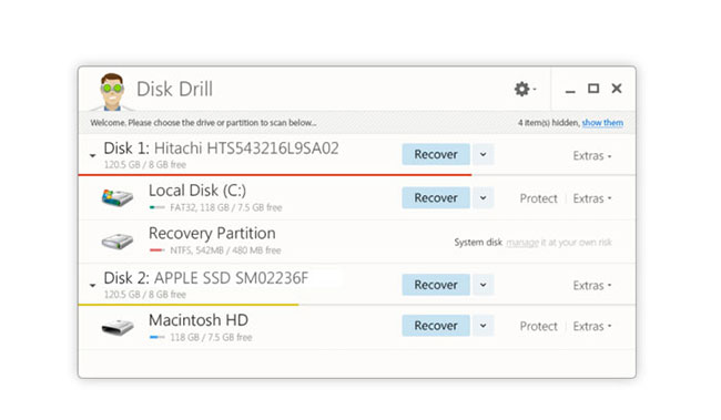 free SD card data recovery software -Disk Drill