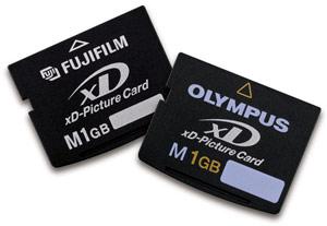 بطاقة الذاكرة xd