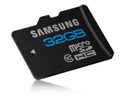 Carte micro SD 32 Go de Samsung