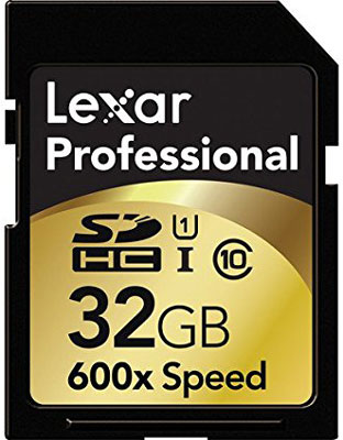 Lexar Professional 600x Memory Card