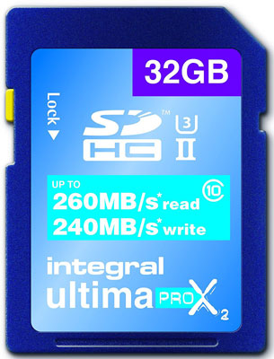 Integral Ultima Pro-X2 Memory Card