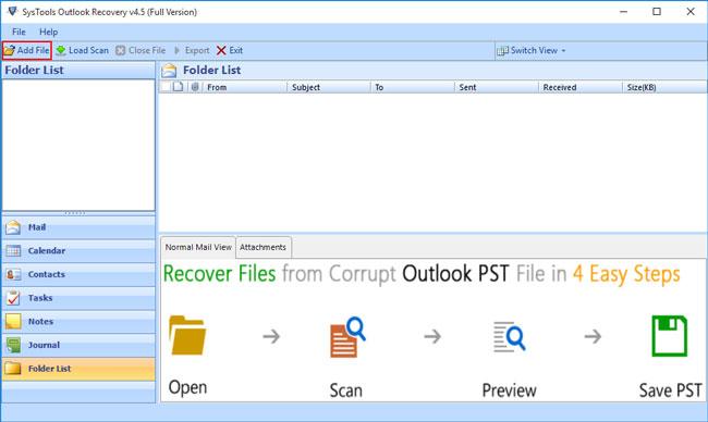 logiciel de récupération email 02