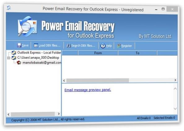logiciel de récupération email 05