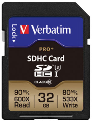 Introduction of Verbatim PRO SD Card