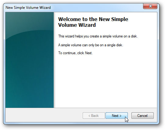 créer un disque dur virtuel étape 7