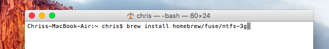 escribir en unidad NTFS en mac paso 3