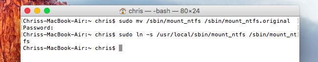 escribir en unidad NTFS en mac paso 5