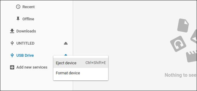 Cómo Trabajar con Unidades Externas en Chromebook