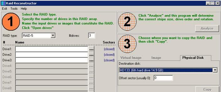 RAID Reconstructor V4.40
