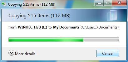 Recuperar archivos flash