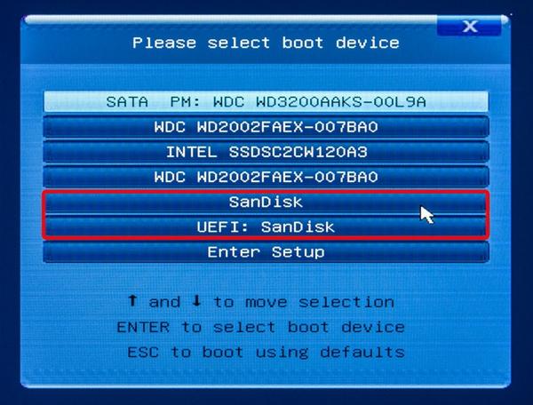 Erstellen eines bootfähigen USB-Laufwerks für Windows PE