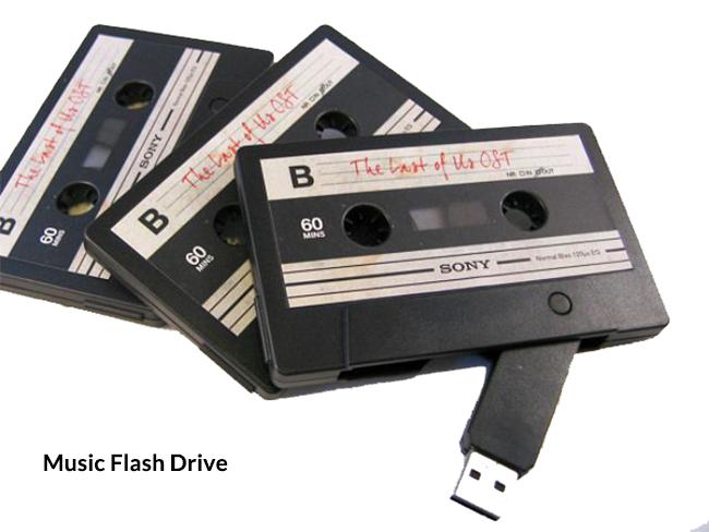 memoria flash musical