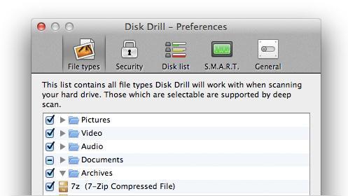 Datenrettungssoftware für Mac-Disk Drill