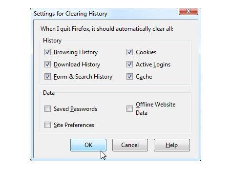 cómo eliminar tu historial de navegación de forma automática