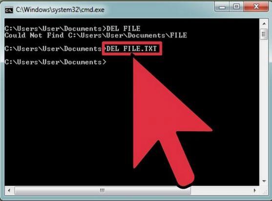 Pasos para eliminar archivos bloqueados