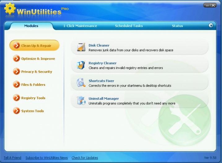 WinUtilities Pro para Eliminar Archivos No Deseados de Windows